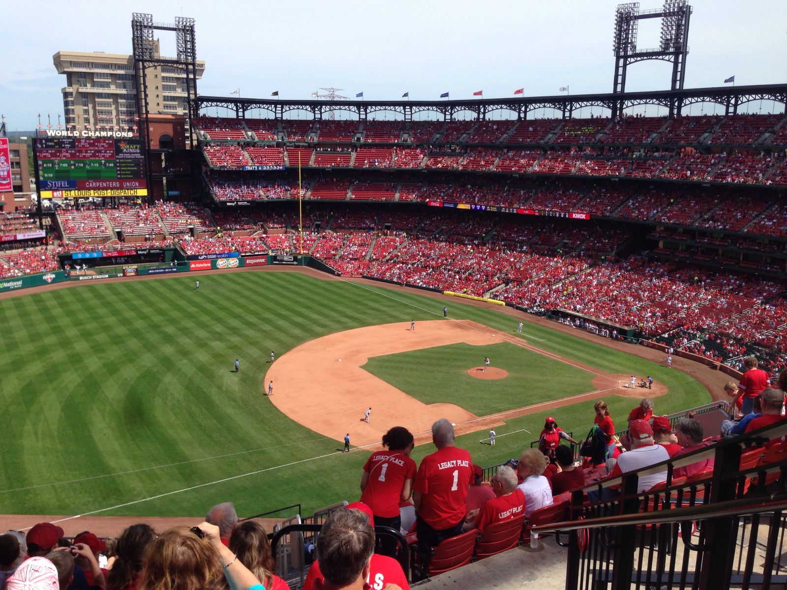 Shaded and Angled: Busch Stadium Section 361 Review ...