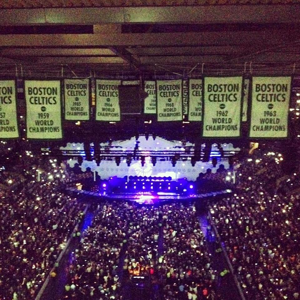 Td Garden Section 308 Concert Seating