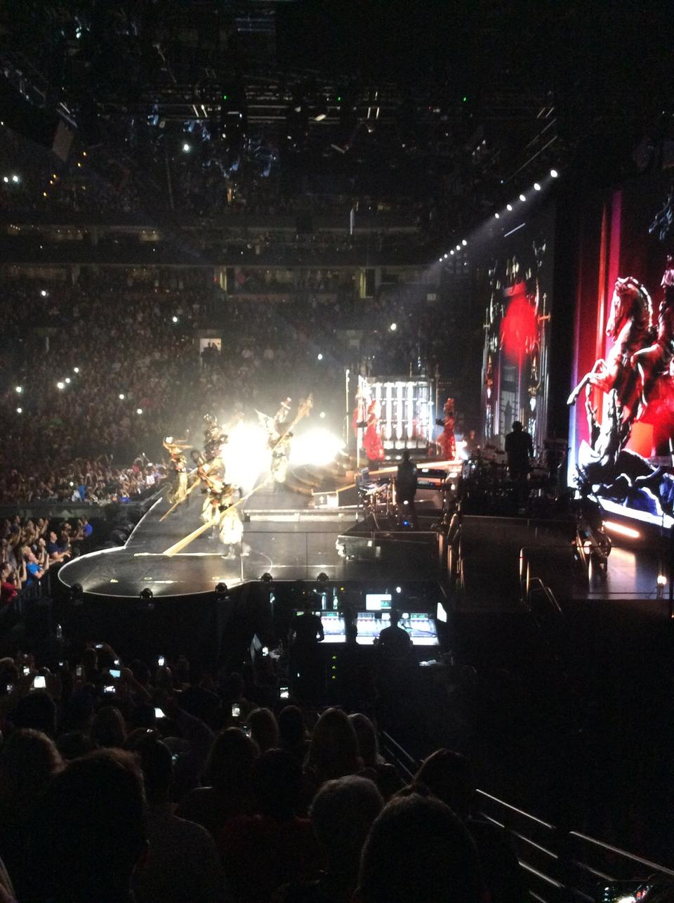 Td Garden Section 21 Concert Seating