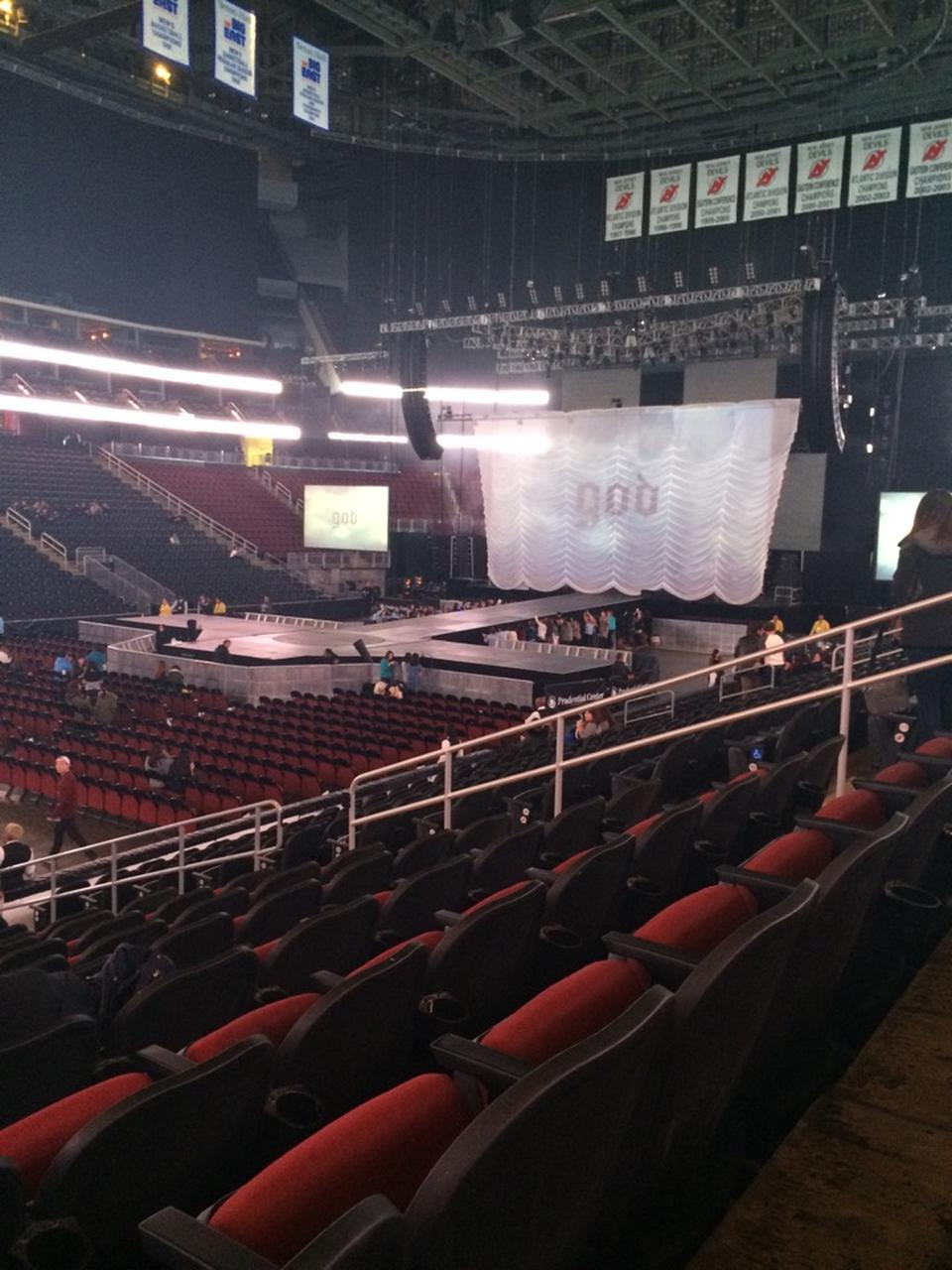 Prudential Center Section 6 Concert Seating