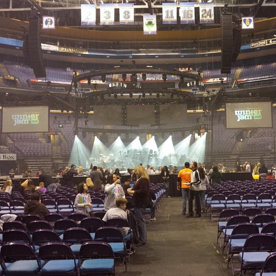 Enterprise Center Floor C Concert Seating