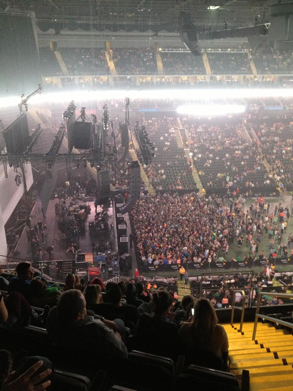 Sprint Center Section 211 Concert Seating Rateyourseats Com