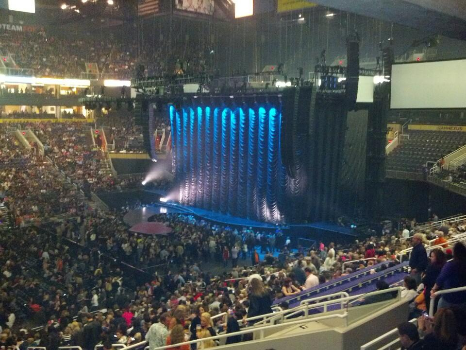 Talking Stick Resort Arena Section 103 Concert Seating