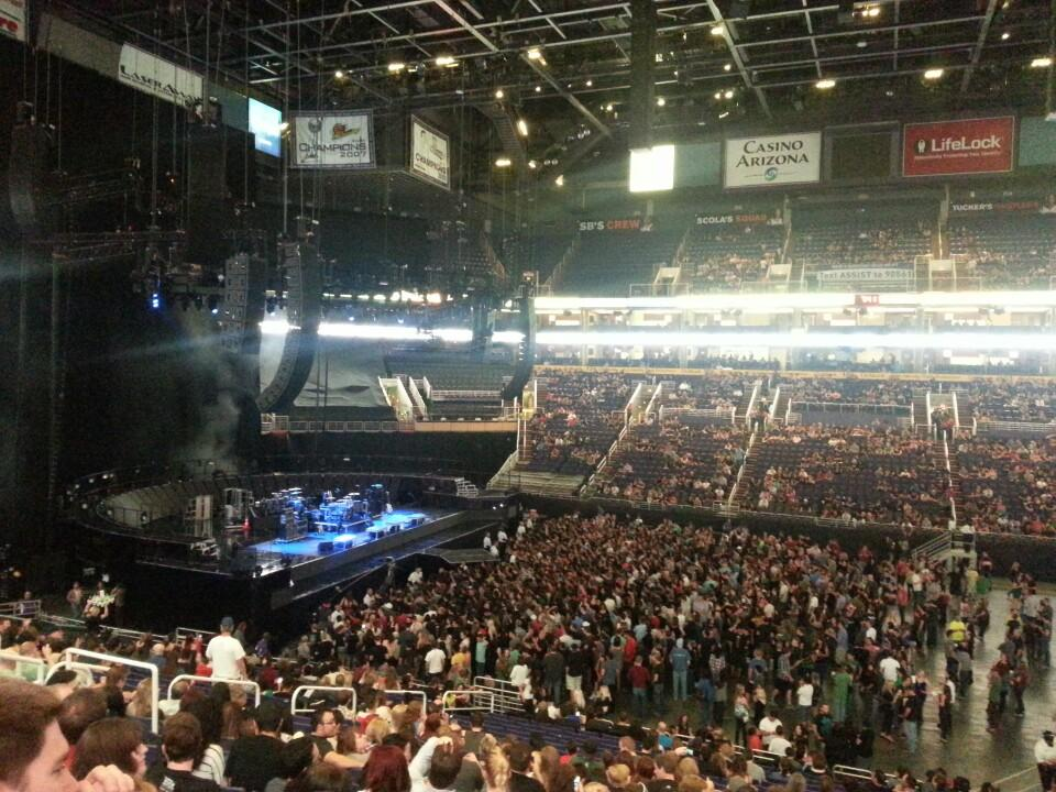 Talking Stick Resort Arena Section 114 Concert Seating