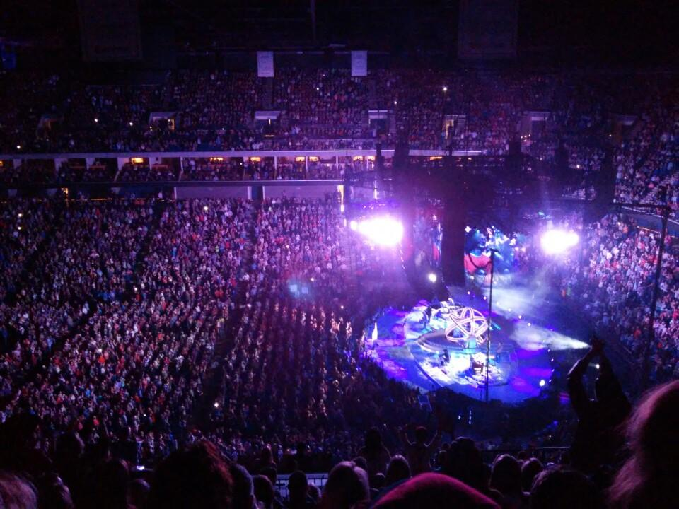 Tulsa Ok Time Zone >> BOK Center Section 314 Concert Seating - RateYourSeats.com