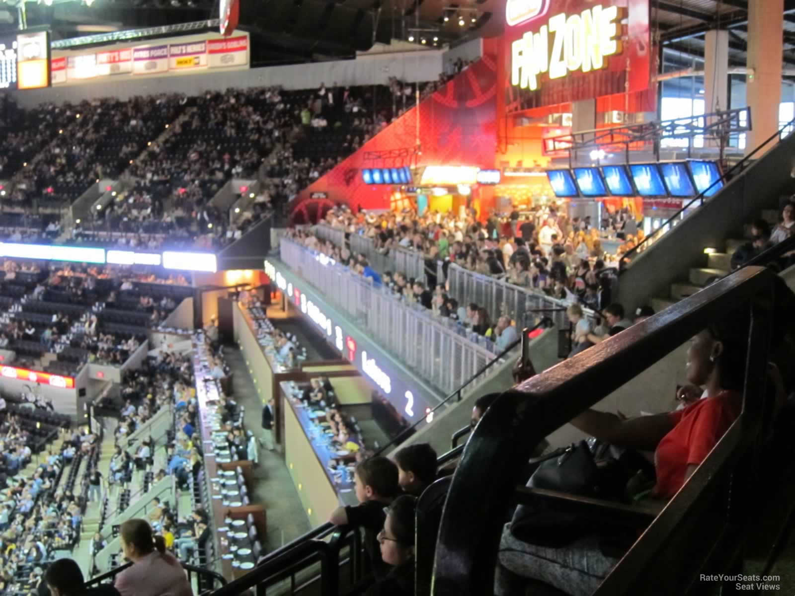 A Look Inside The At Amp T Center Rateyourseats Com