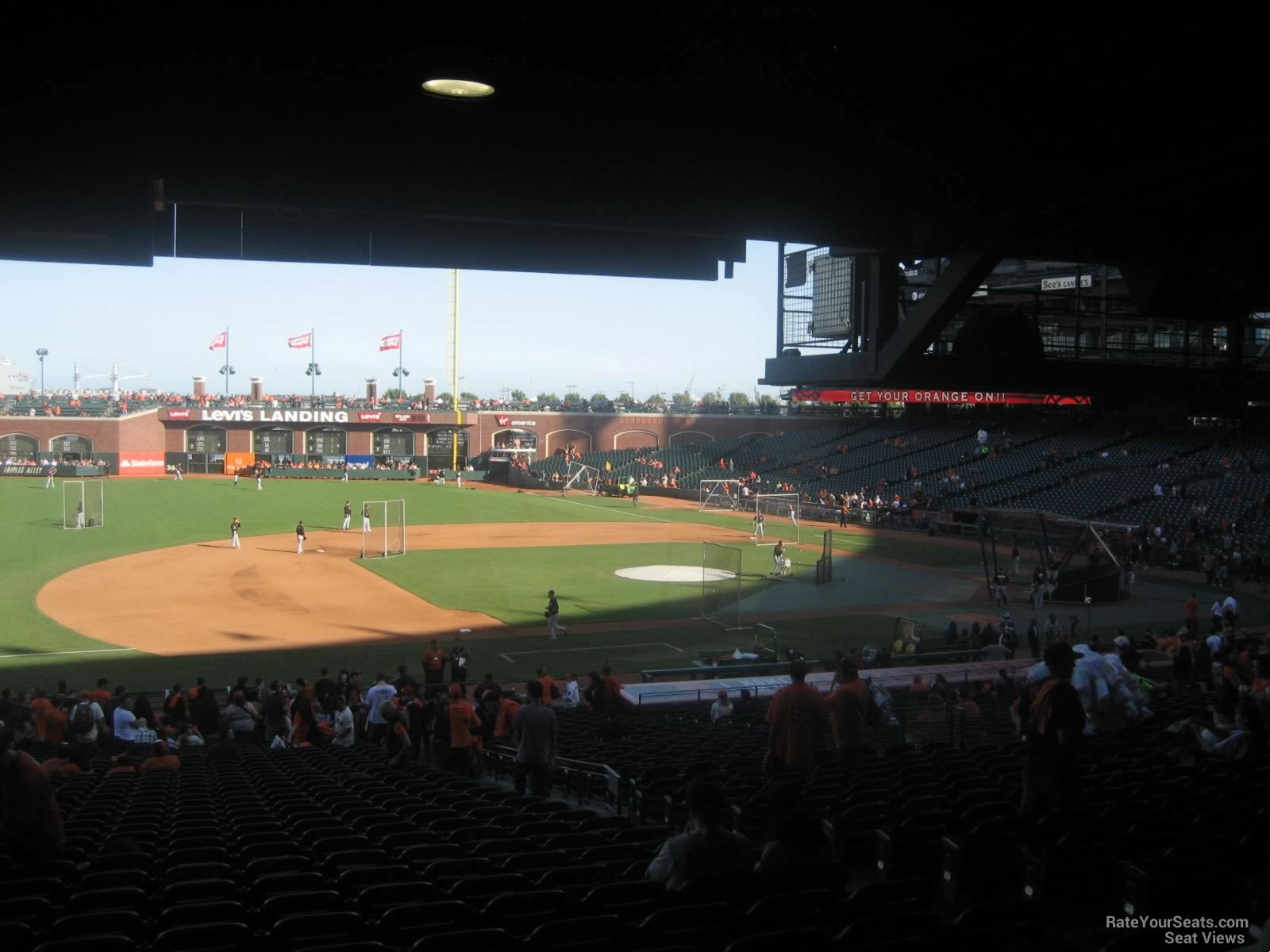 At Amp T Park Section 125 San Francisco Giants