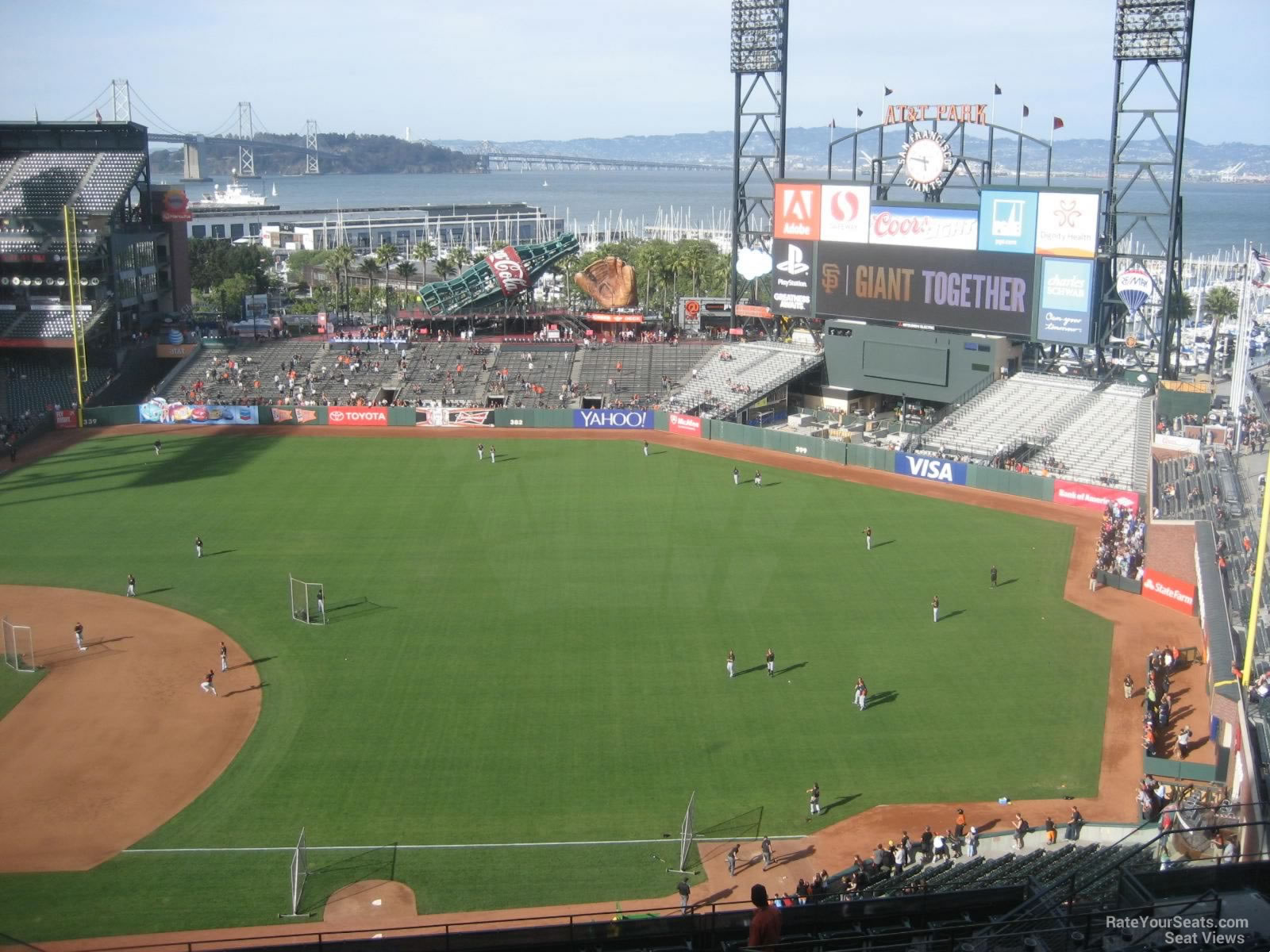 AT&T Park Section 304 - San Francisco Giants ...