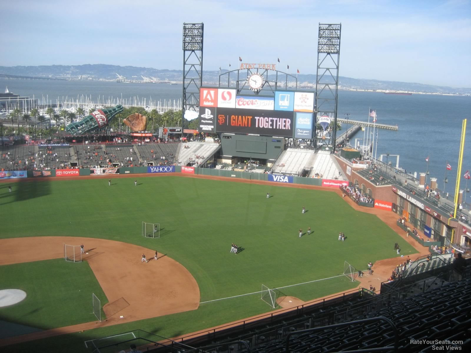 AT&T Park Section 310 - San Francisco Giants ...