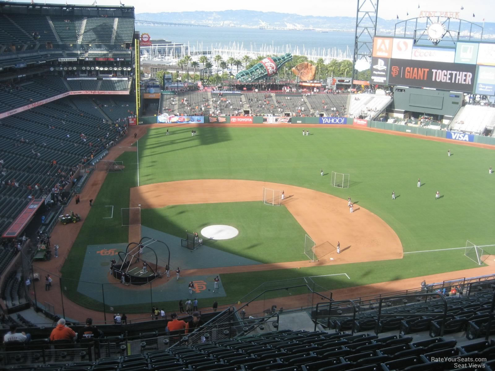 At Amp T Park Section 311 San Francisco Giants Rateyourseats Com