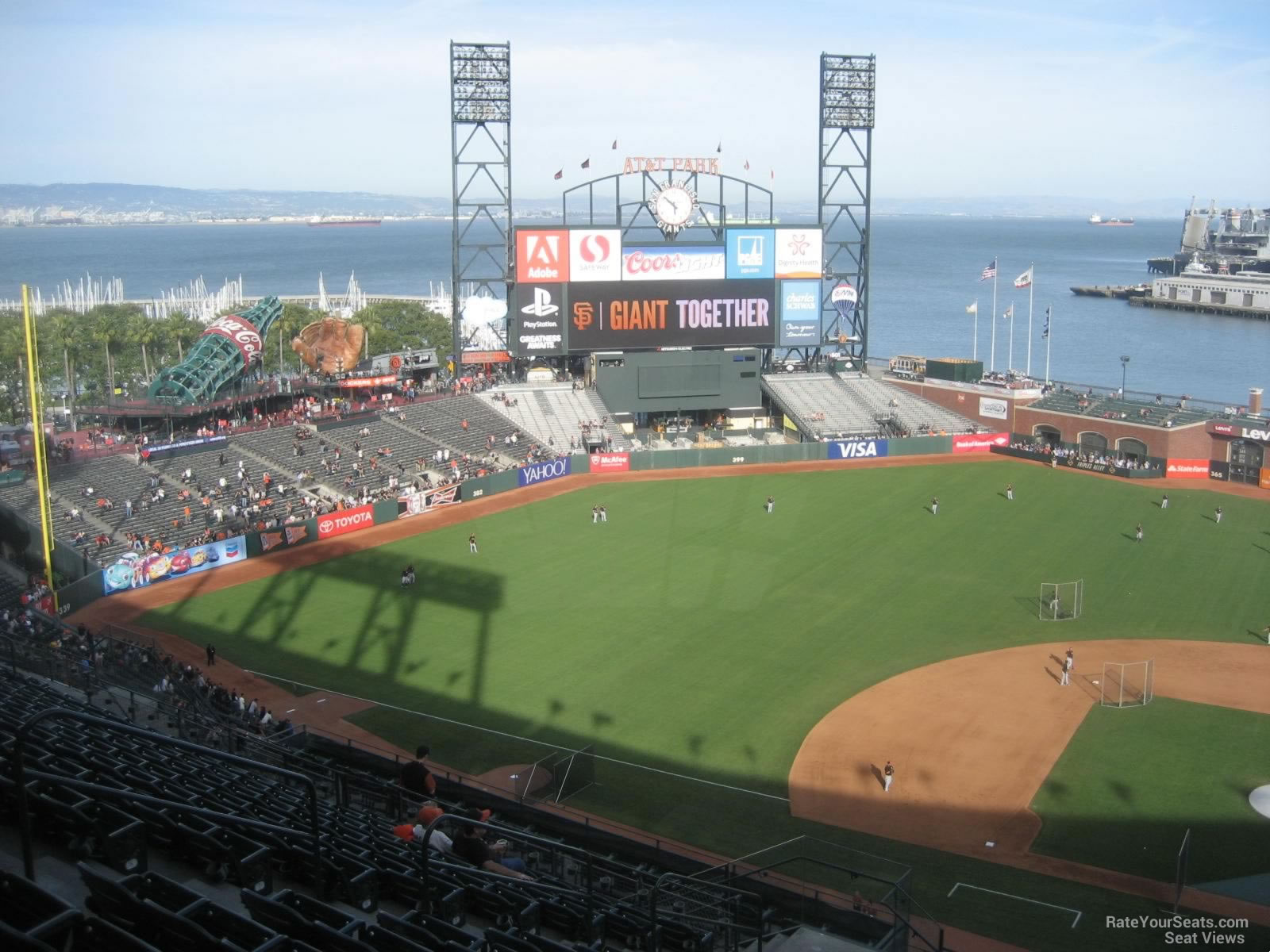 AT&T Park Section 321 - San Francisco Giants ...