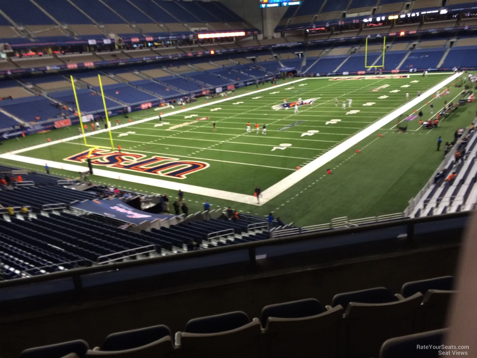 Alamodome Section 219 Utsa Football Rateyourseats Com