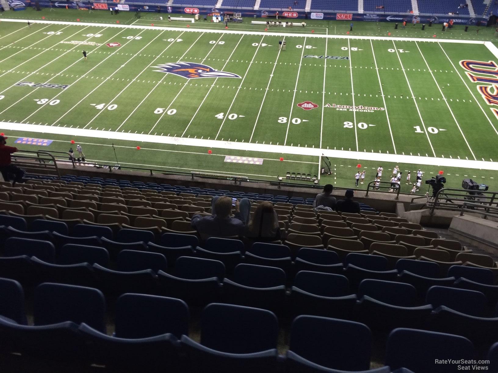 Alamodome Section 311 Utsa Football Rateyourseats Com