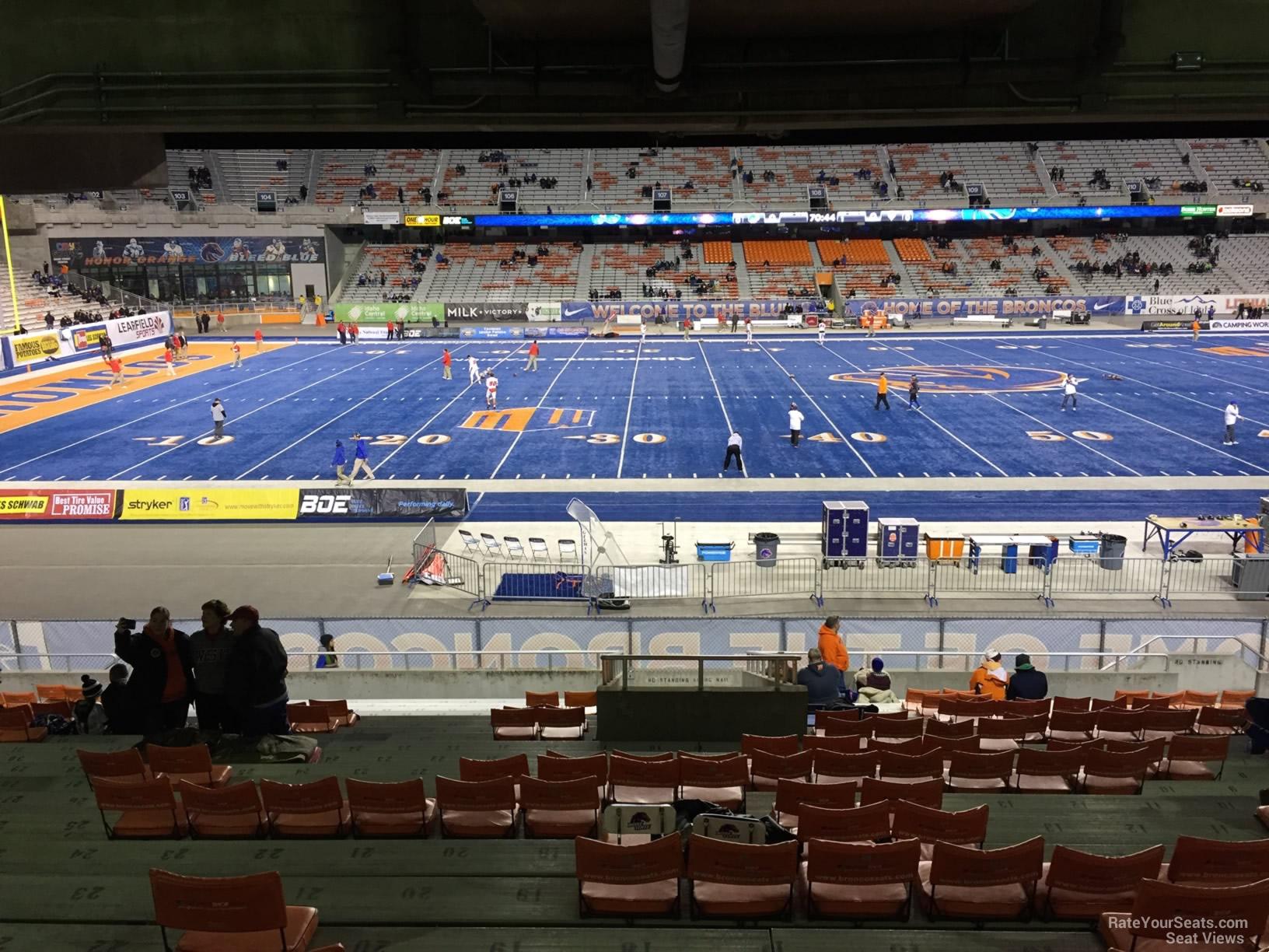 Bronco Stadium Section 24 - RateYourSeats.com
