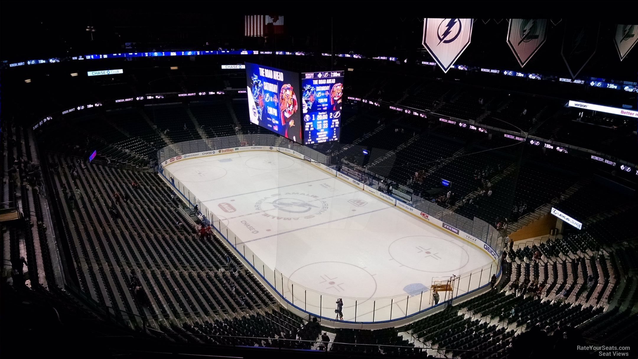 Amalie Arena Section 311 - Tampa Bay Lightning ...