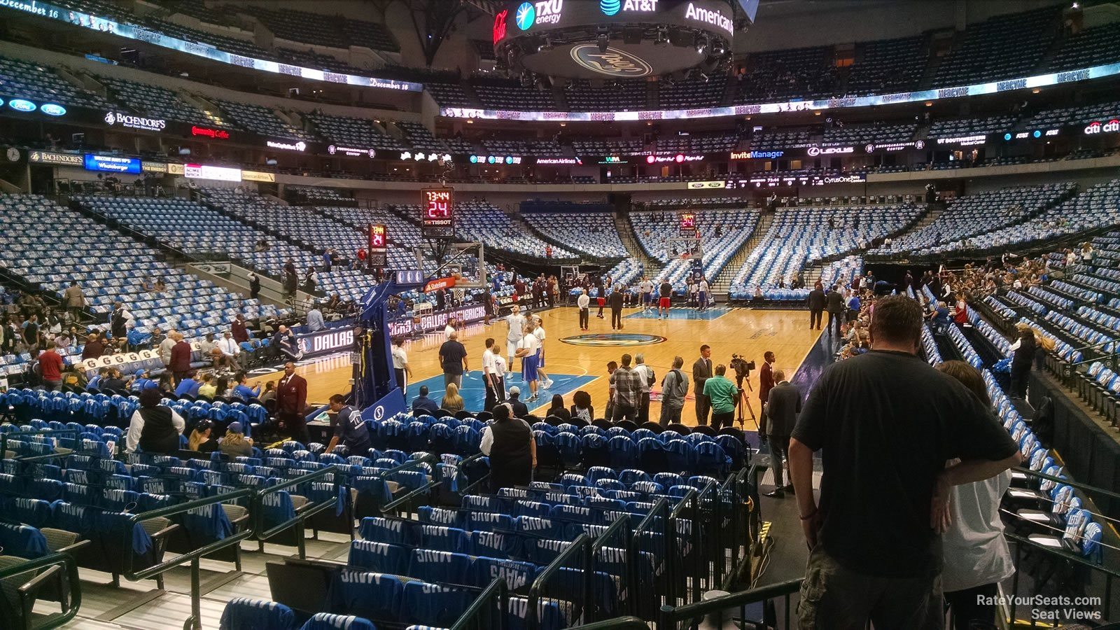 American Airlines Center Section 111 Dallas Mavericks