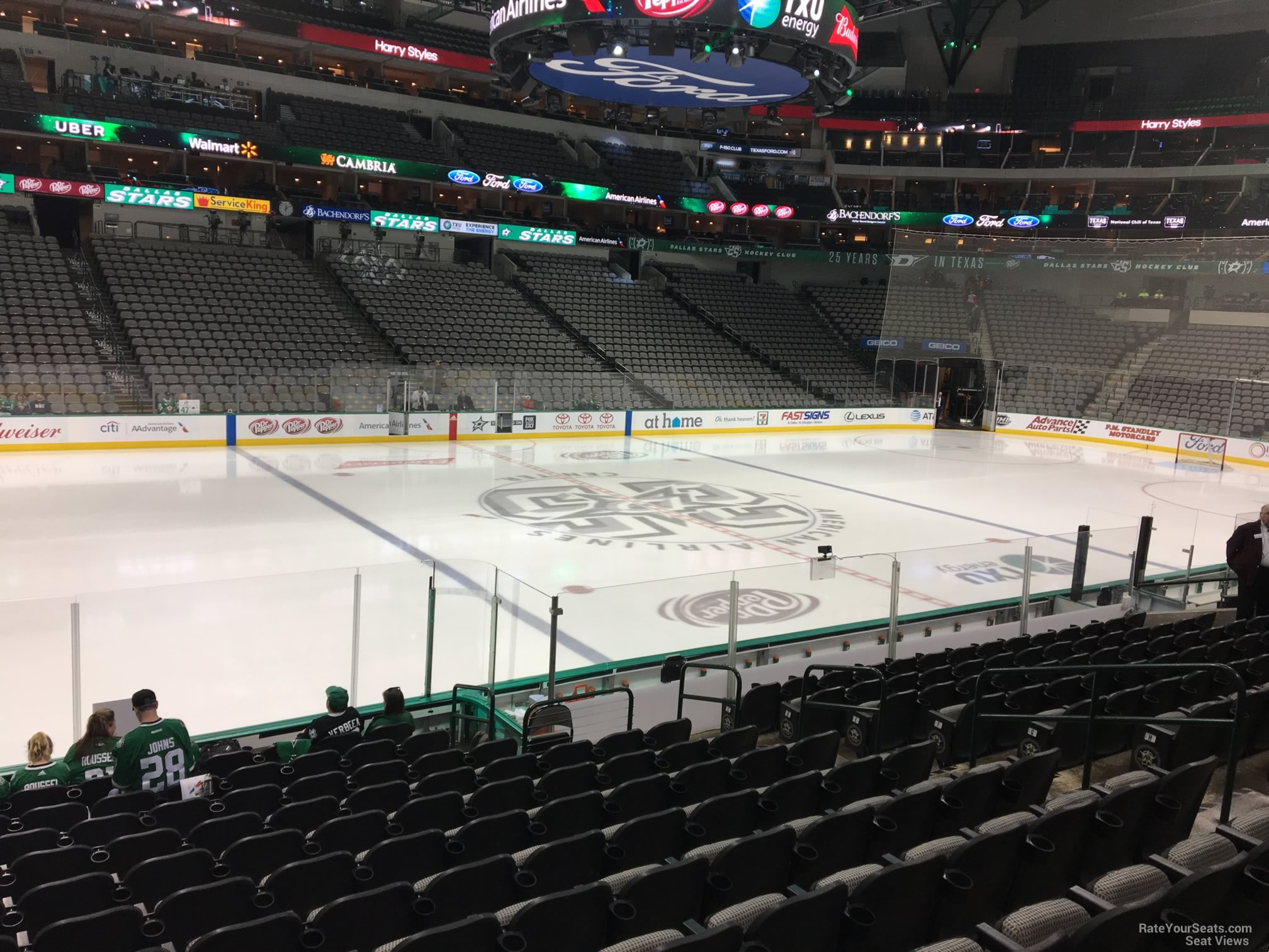 American Airlines Center Section 120 Dallas Stars