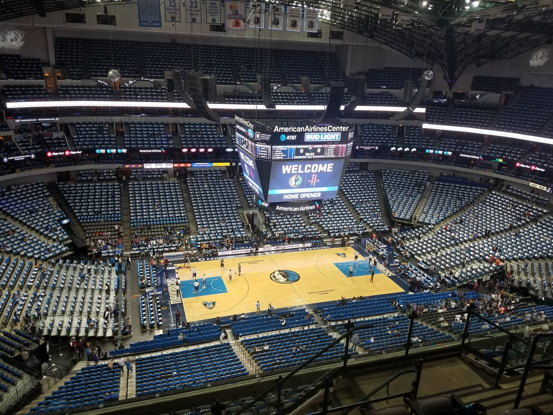 American Airlines Center Section 311 Dallas Mavericks