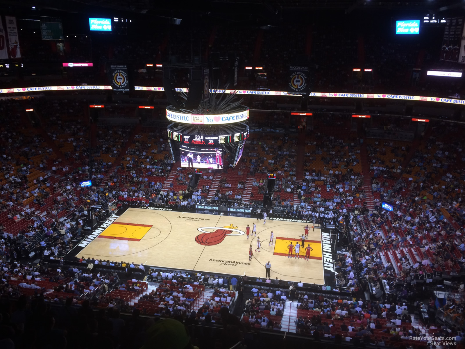 Americanairlines Arena Section 323 Miami Heat