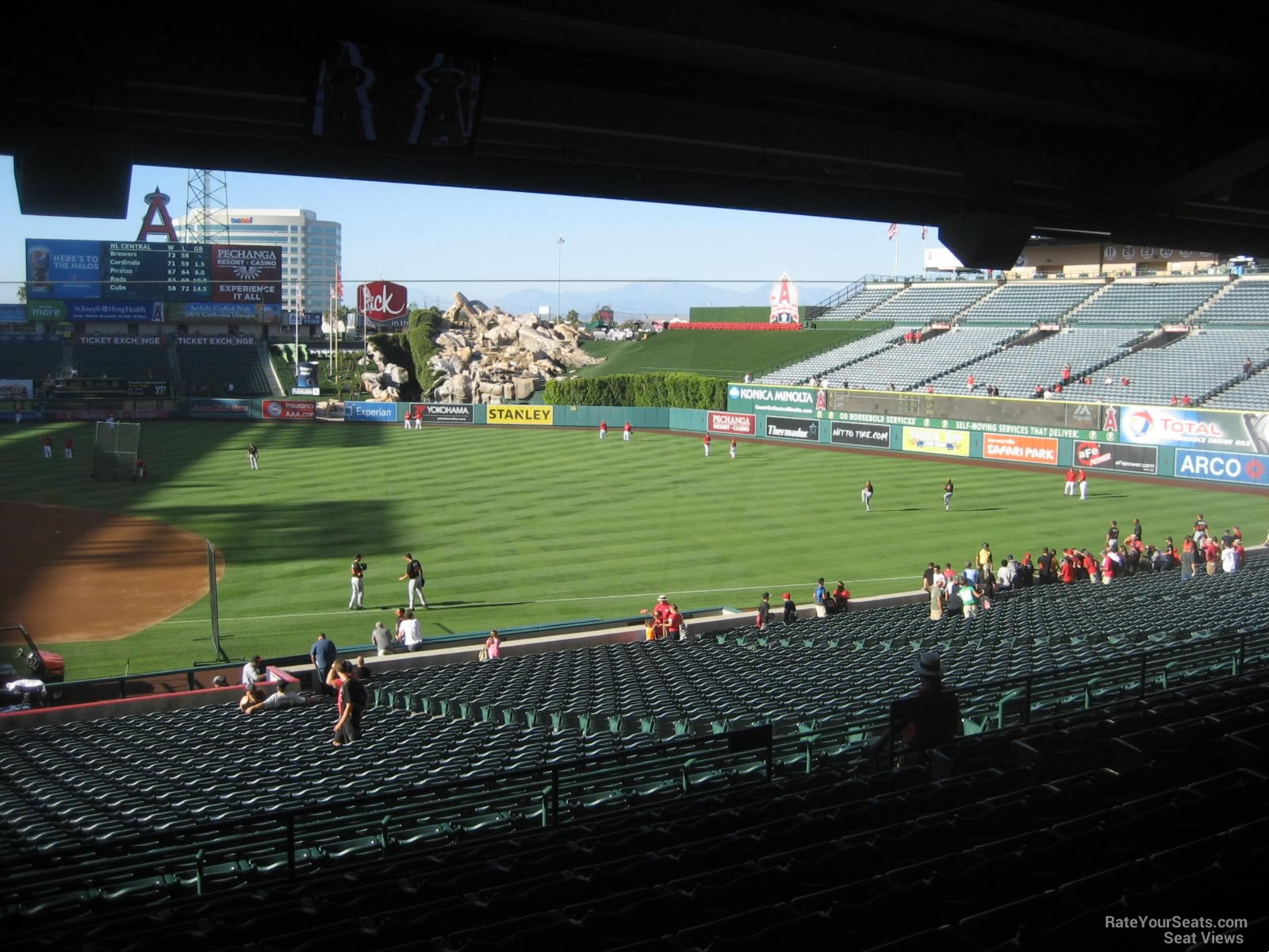Angel Stadium Section 224 - RateYourSeats.com