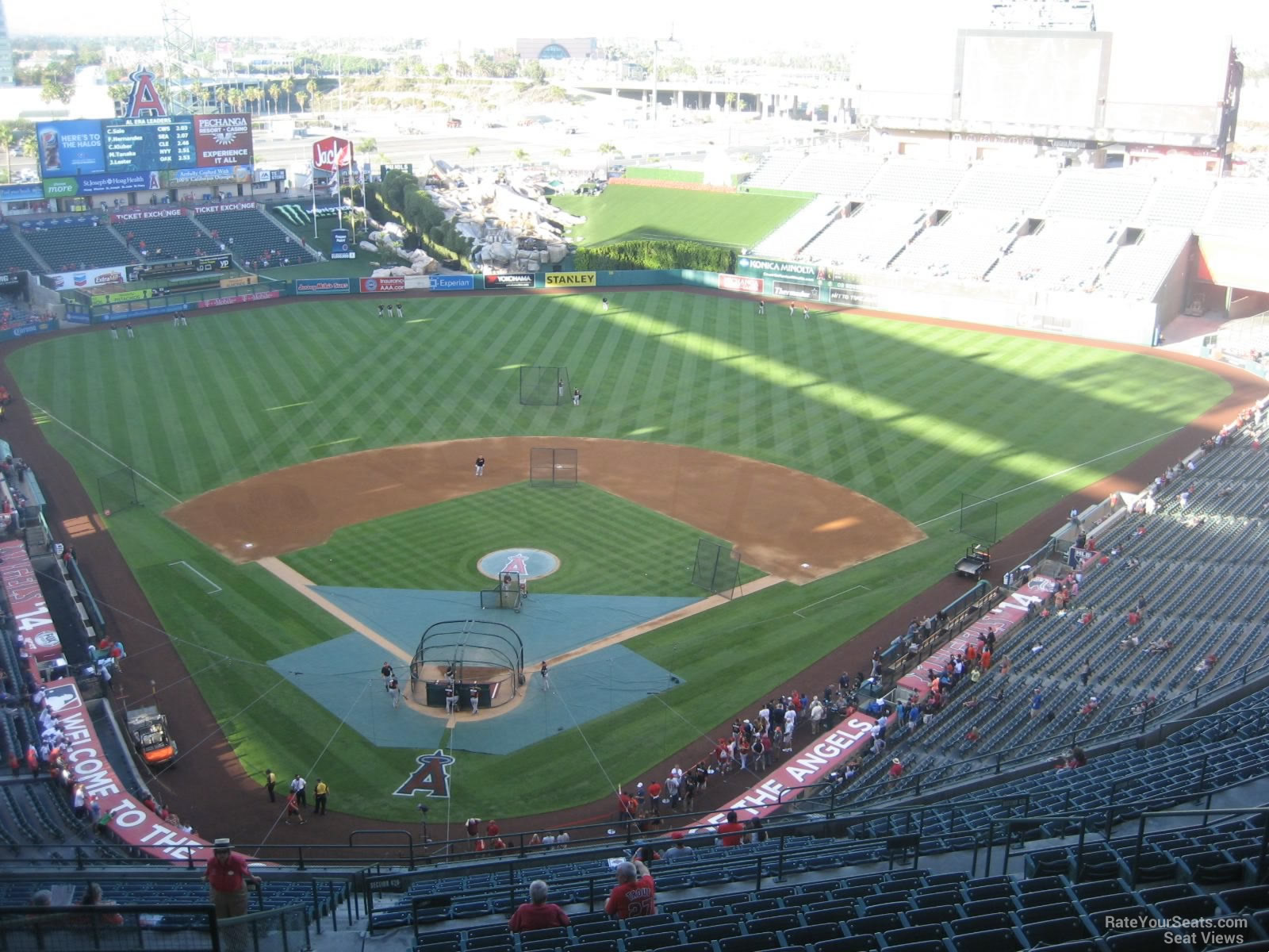 Angel Stadium Section 522 - RateYourSeats.com