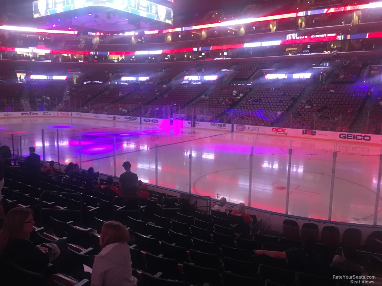 Bb Amp T Center Section 133 Florida Panthers Rateyourseats Com
