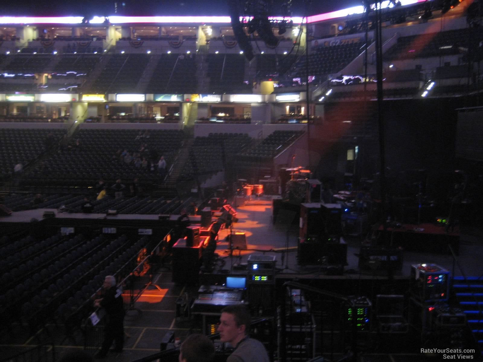 Bankers Life Fieldhouse Section 3 Concert Seating ...