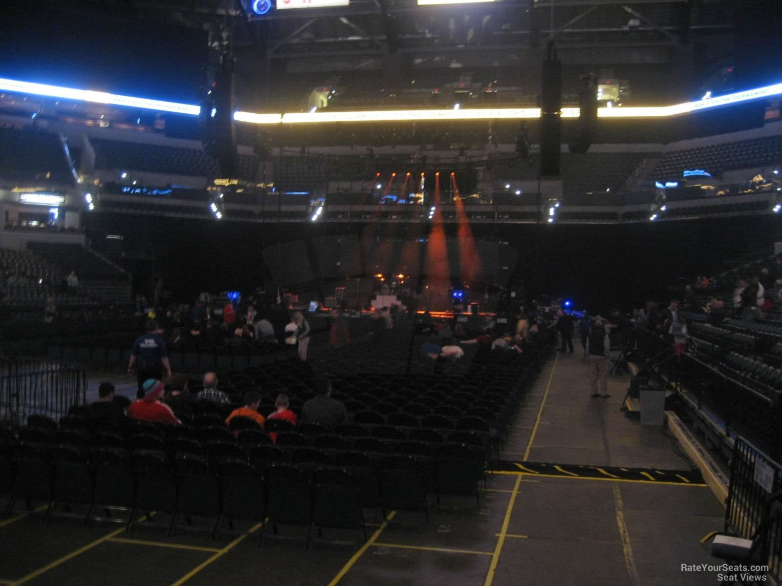 Bankers Life Fieldhouse Section 8 Concert Seating