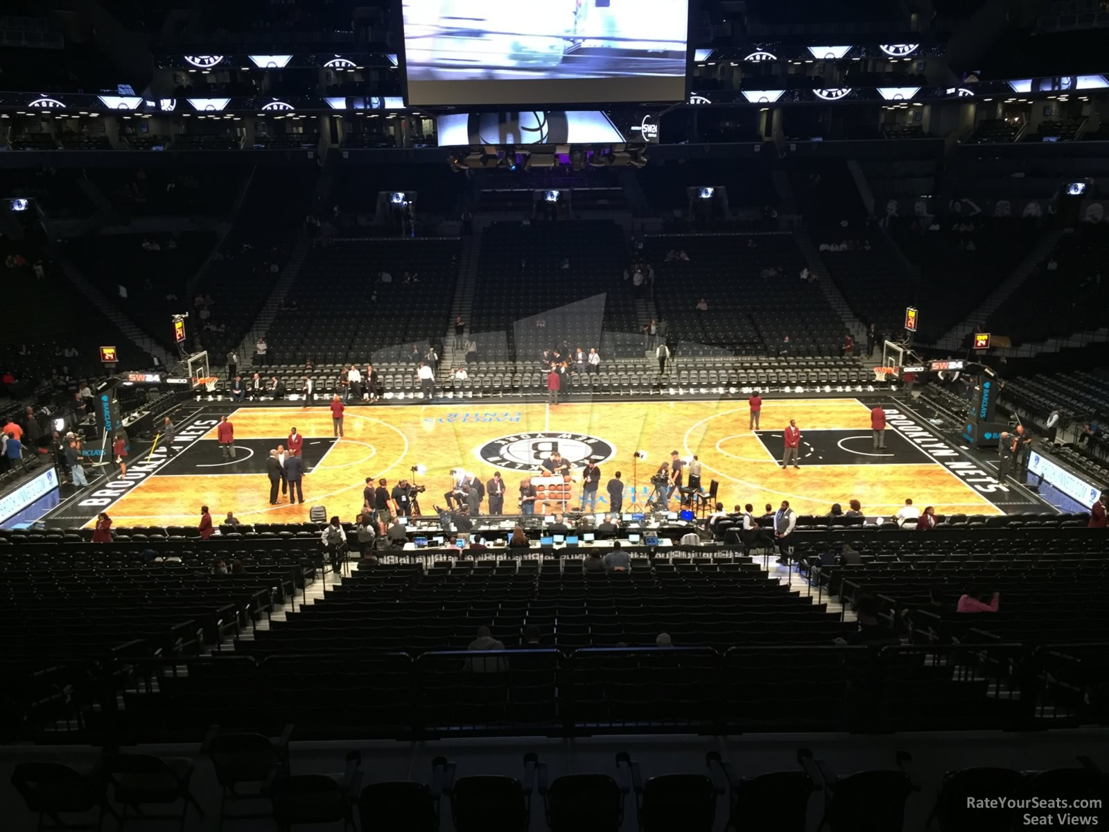 Barclays Center Section 108 Brooklyn Nets