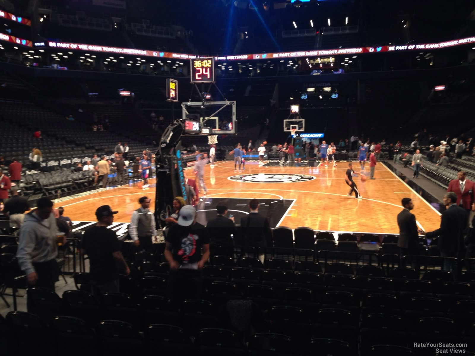 Barclays Center Section 31 Brooklyn Nets Rateyourseats Com
