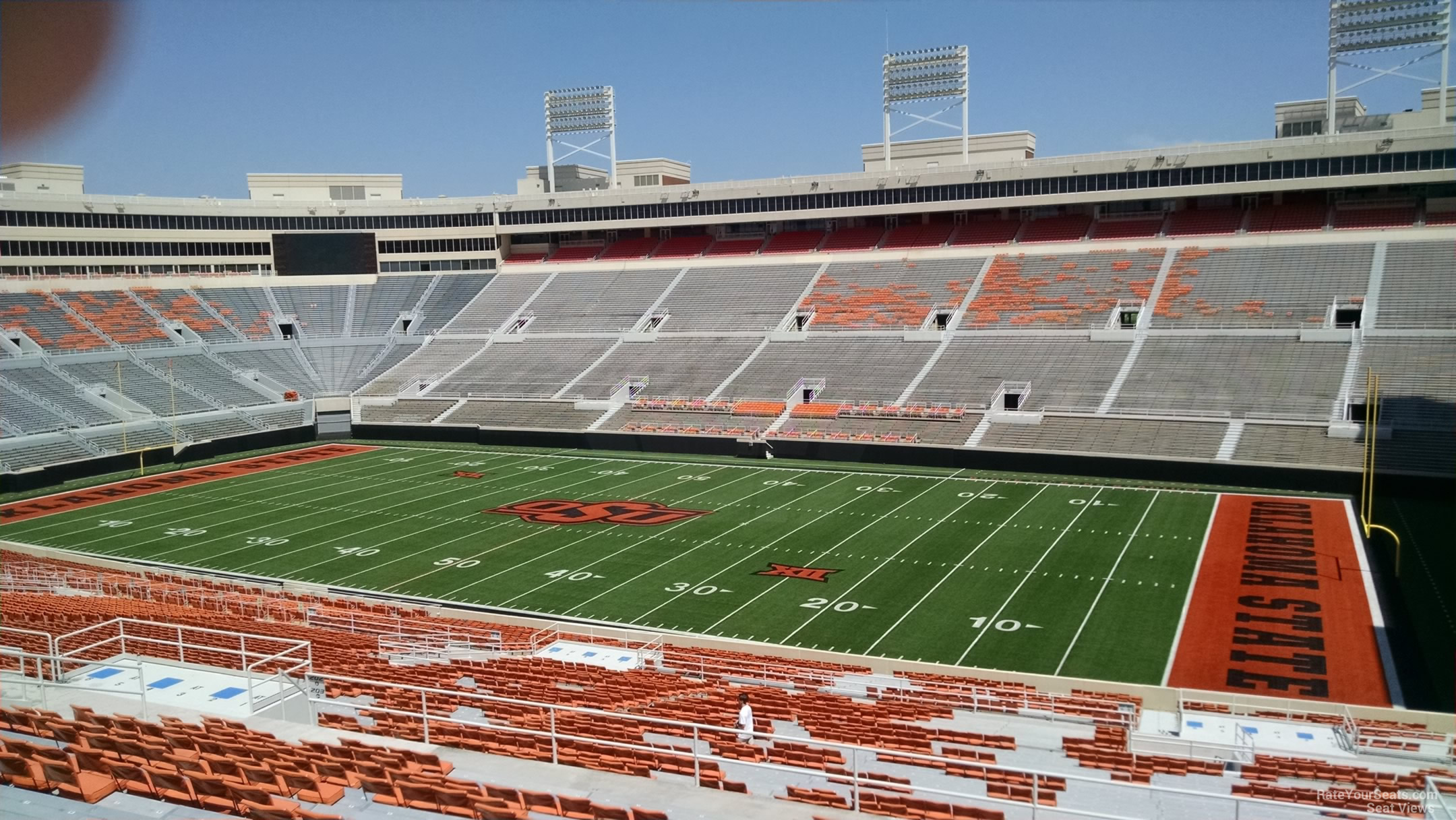 Boone Pickens Stadium Section 302 - RateYourSeats.com