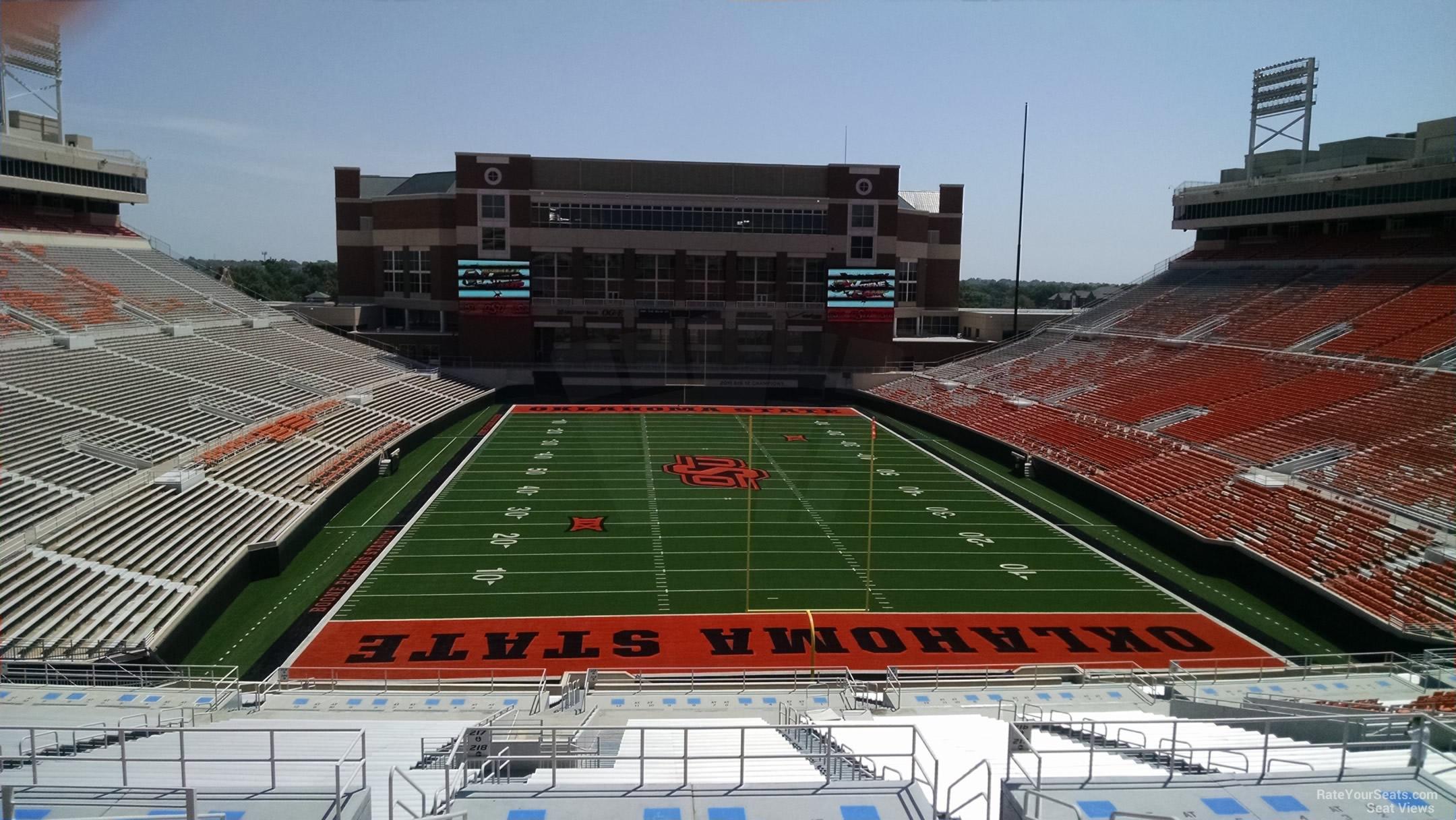 Boone Pickens Stadium Section 320 Rateyourseats Com