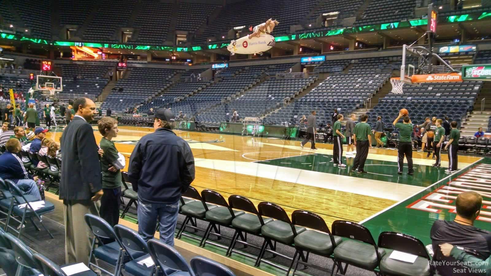 Bradley Center Section 212 Milwaukee Bucks