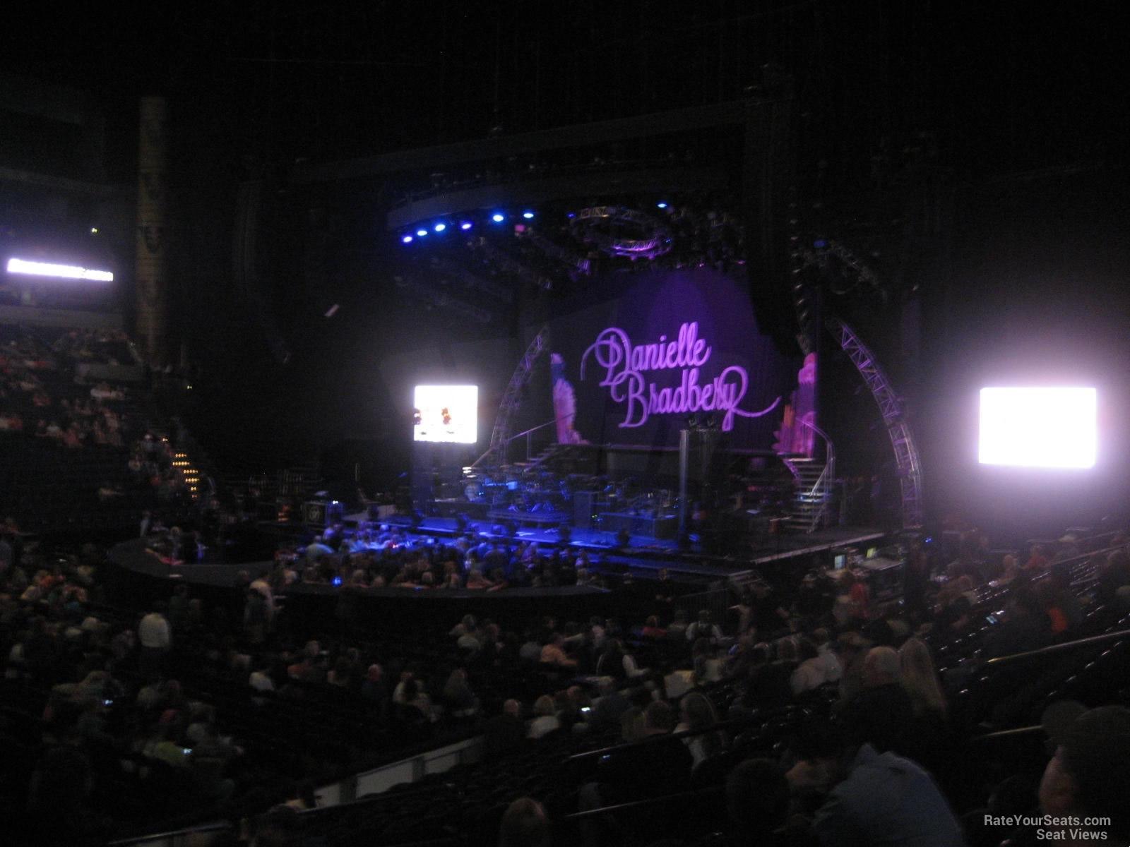 Bridgestone Arena Section 105 Concert Seating