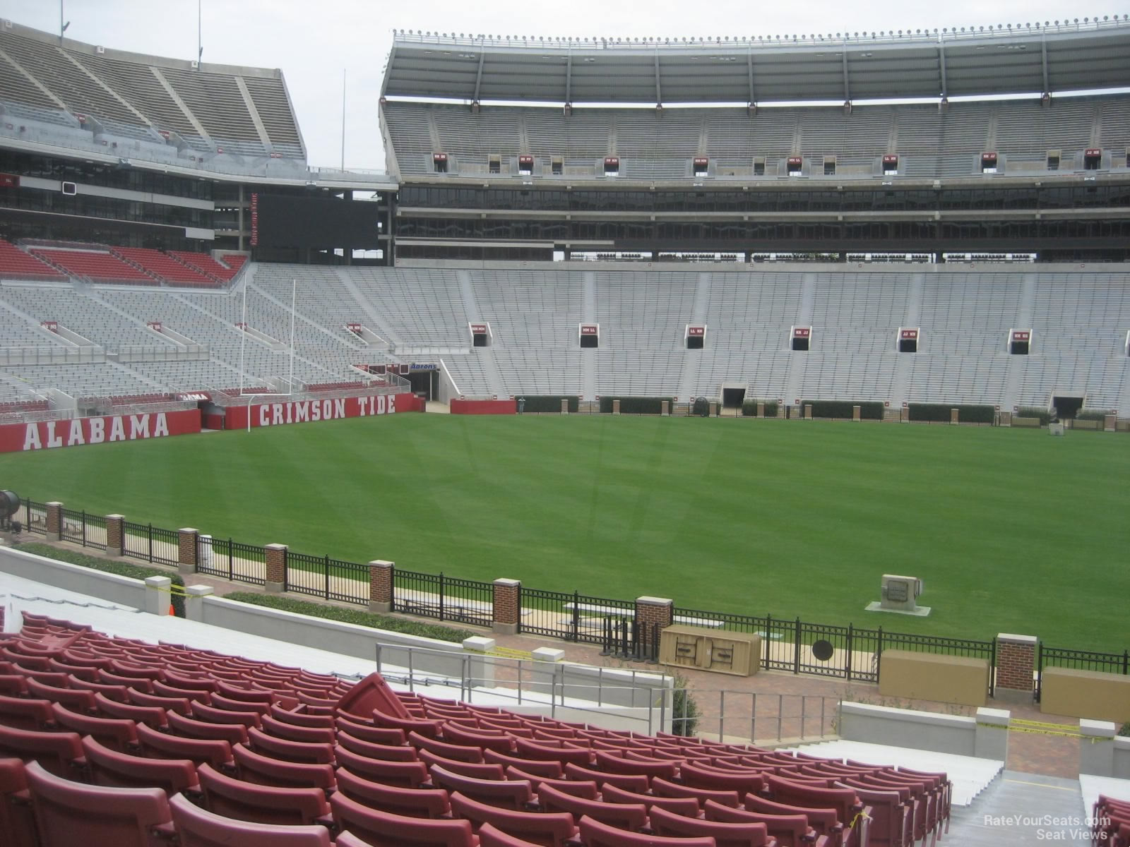 Bryant Denny Stadium Section F Rateyourseats Com