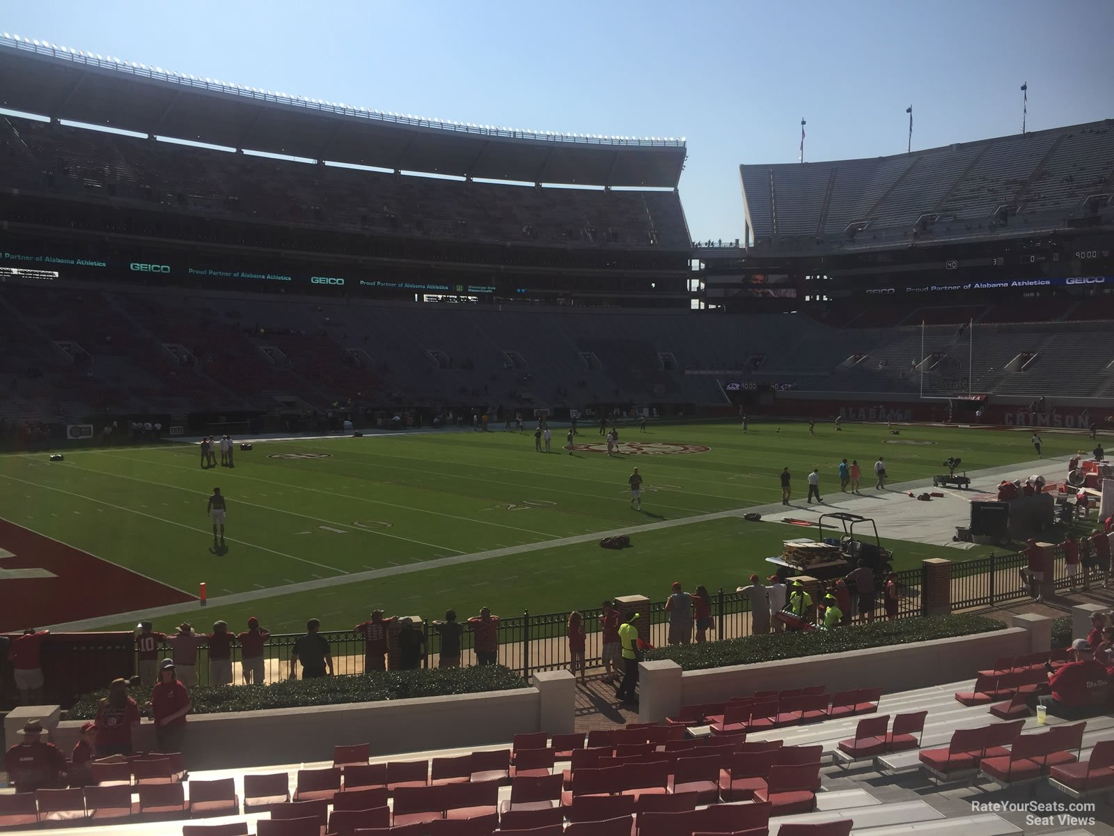 Bryant Denny Stadium Section M Rateyourseats Com