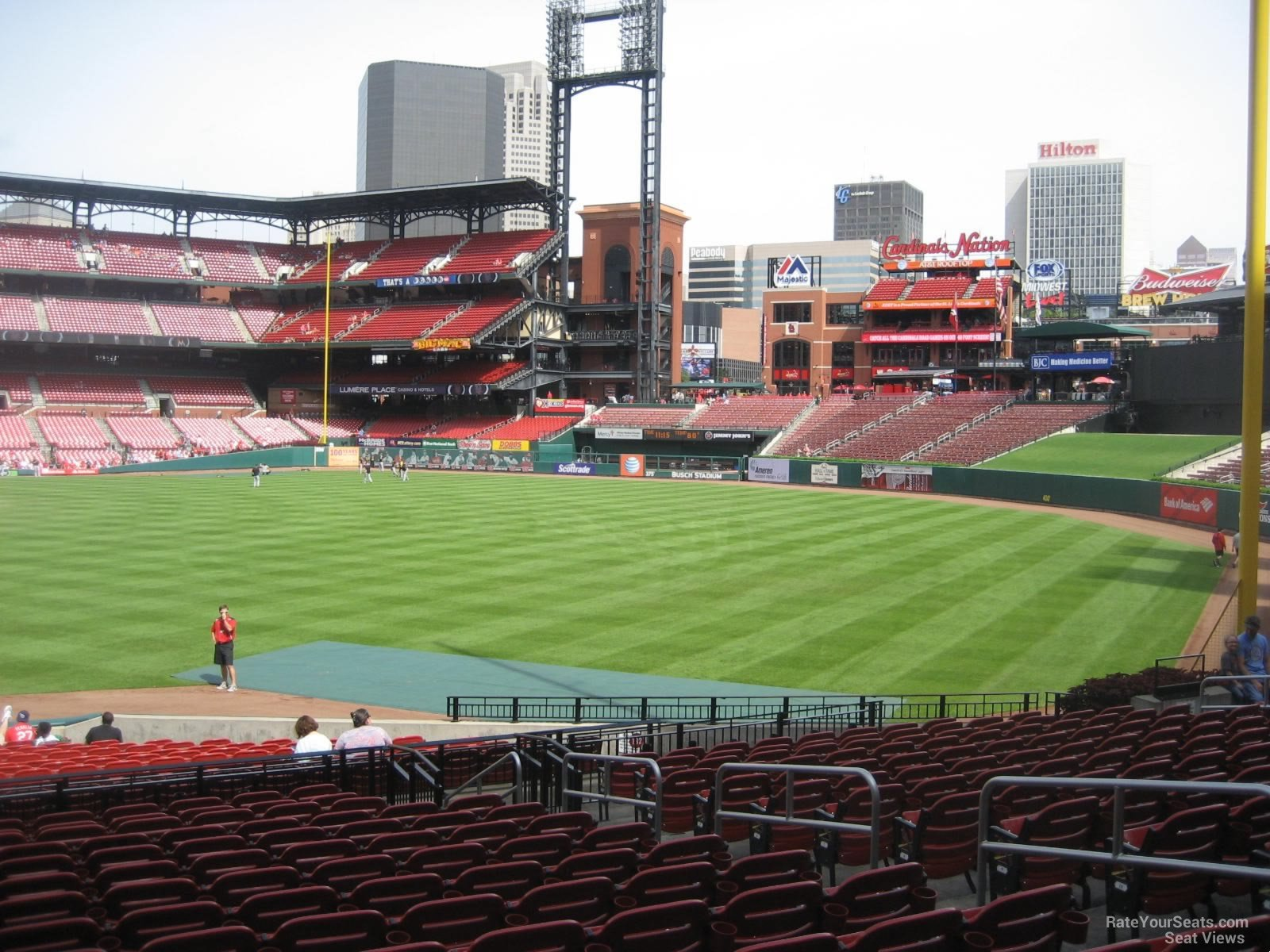 Busch Stadium Section 132 - RateYourSeats.com