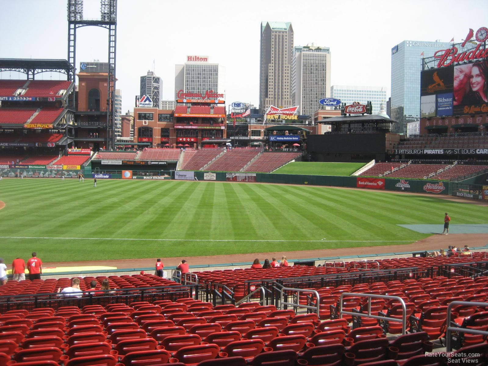 Busch Stadium Section 138 - RateYourSeats.com
