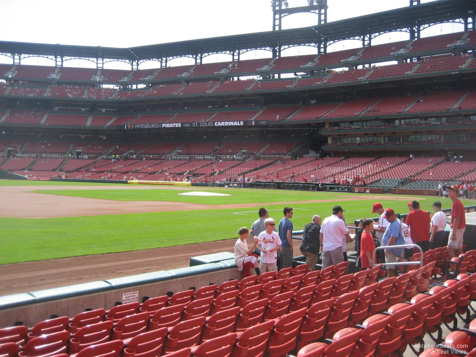 Busch Stadium Section 160 - RateYourSeats.com