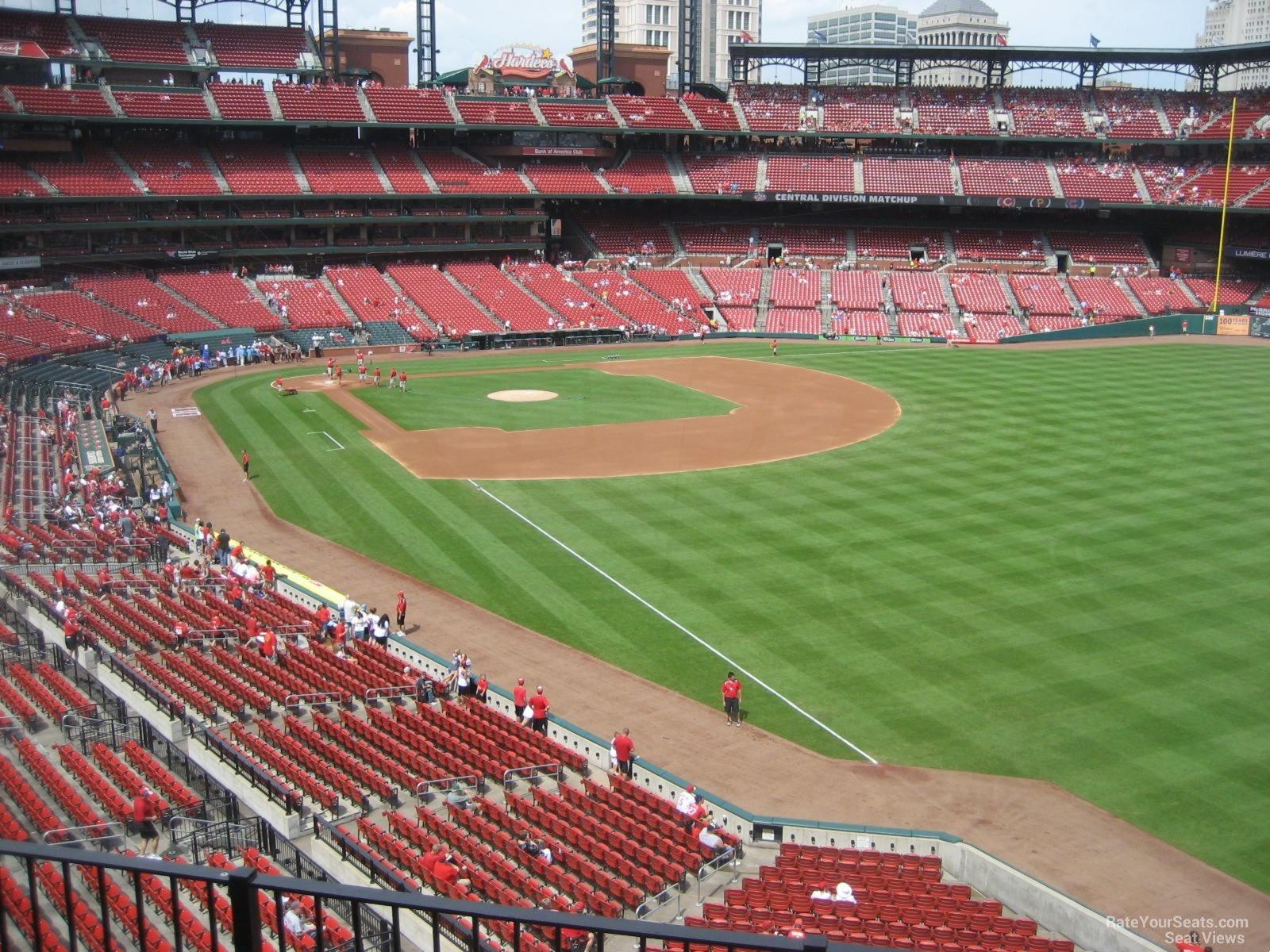 Busch Stadium Section 232 Rateyourseats Com