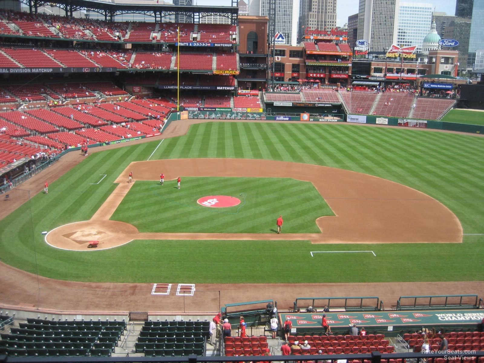 Busch Stadium Section 245 Rateyourseats Com