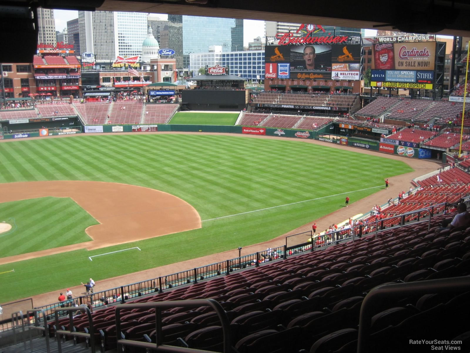 Busch Stadium Section 246 Rateyourseats Com