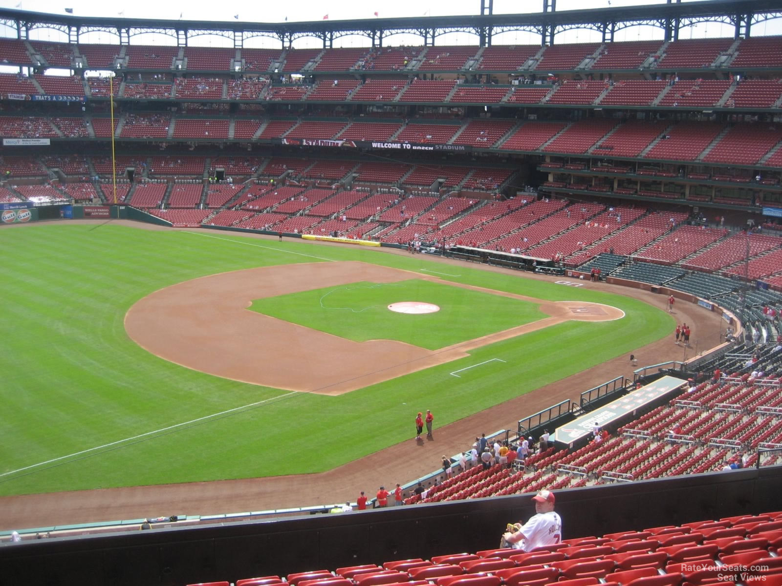Busch Stadium Section 263 Rateyourseats Com
