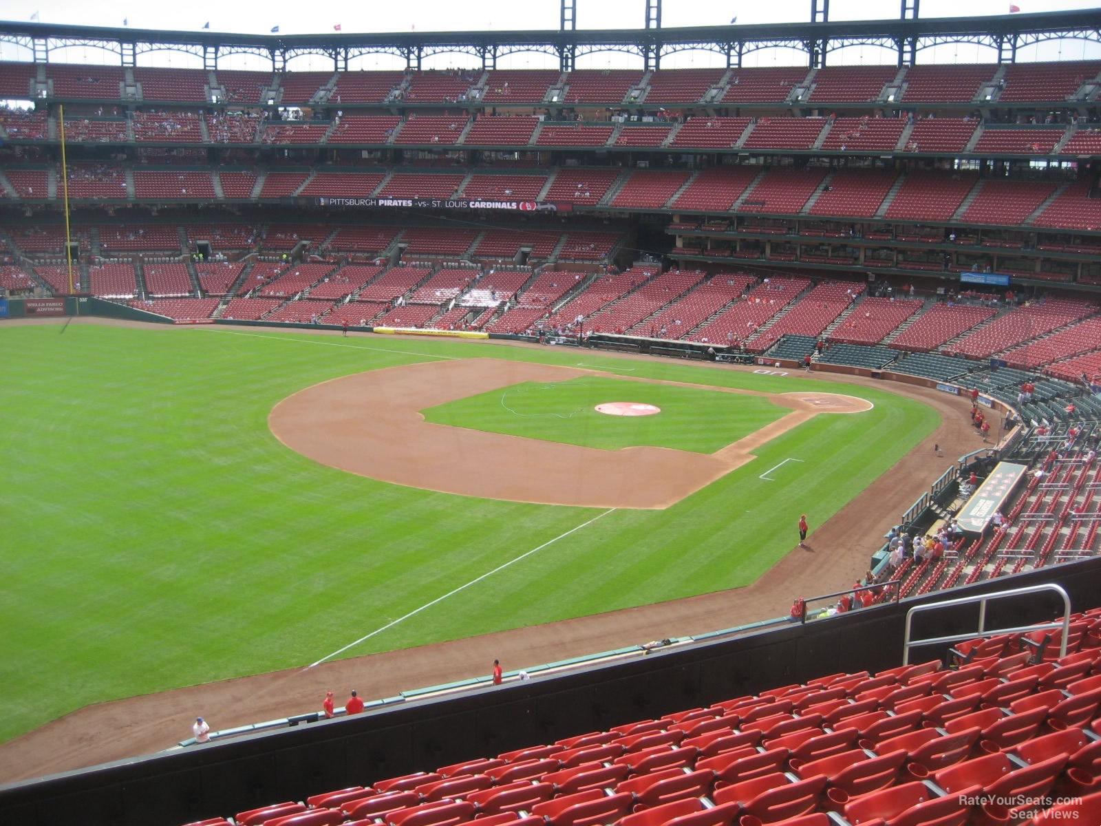 Busch Stadium Section 267 Seat 28 Images Busch Stadium