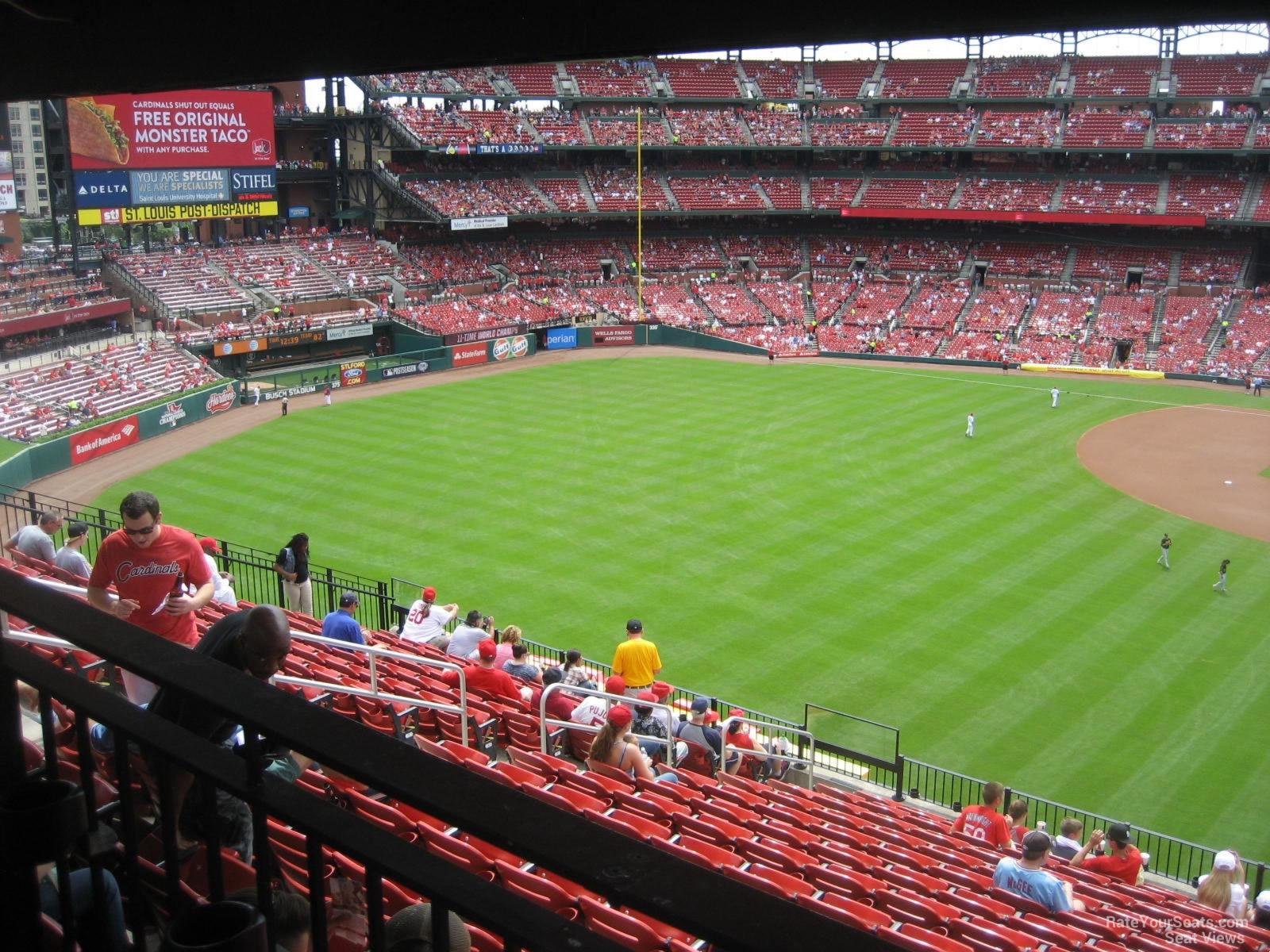 Busch Stadium Section 271 Rateyourseats Com