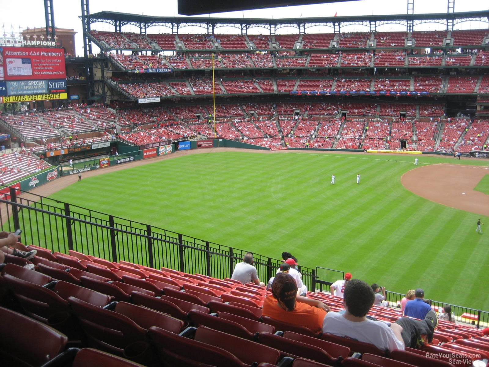 Busch Stadium Section 272 Rateyourseats Com