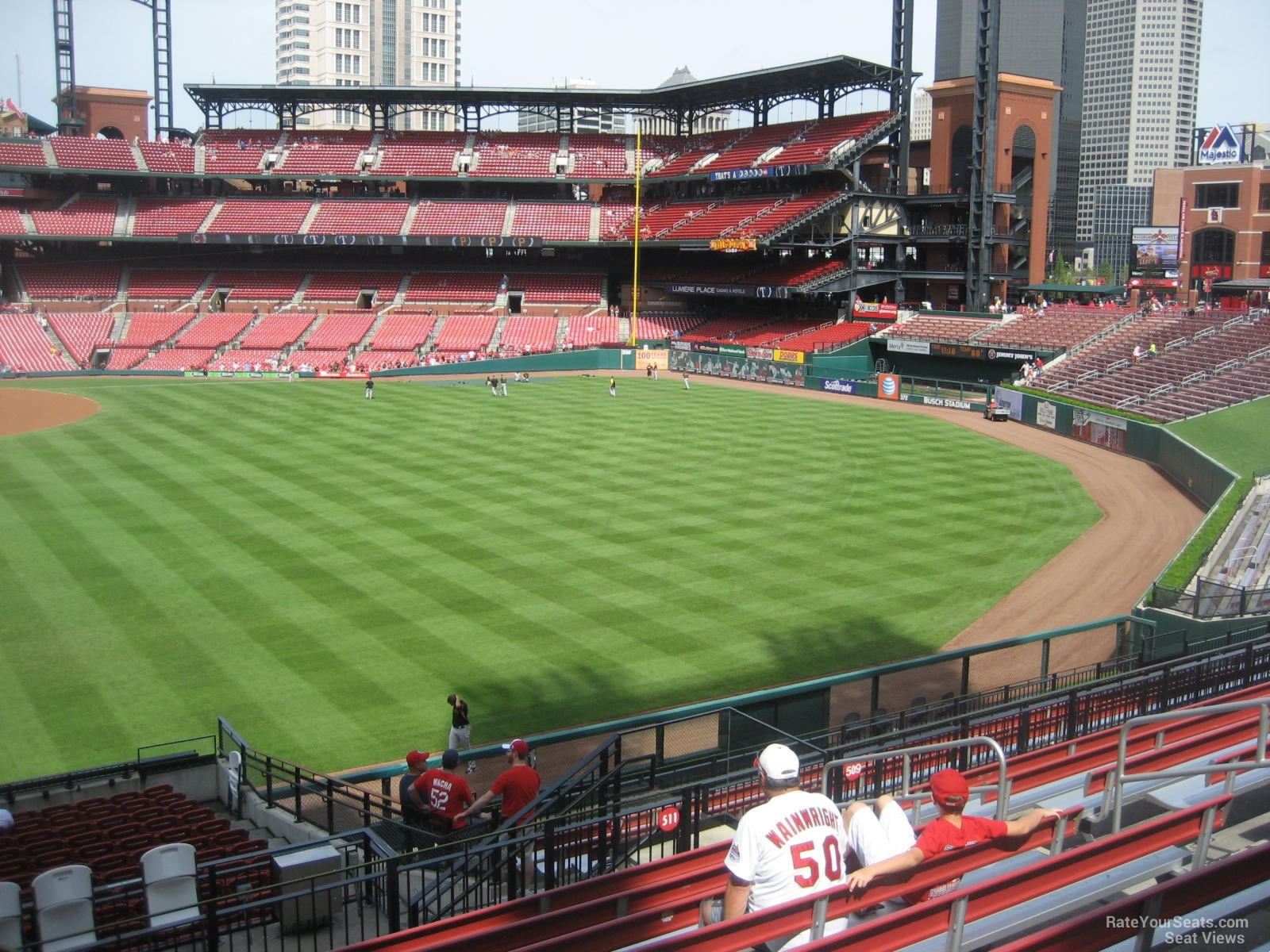 Busch Stadium Section 111 - RateYourSeats.com