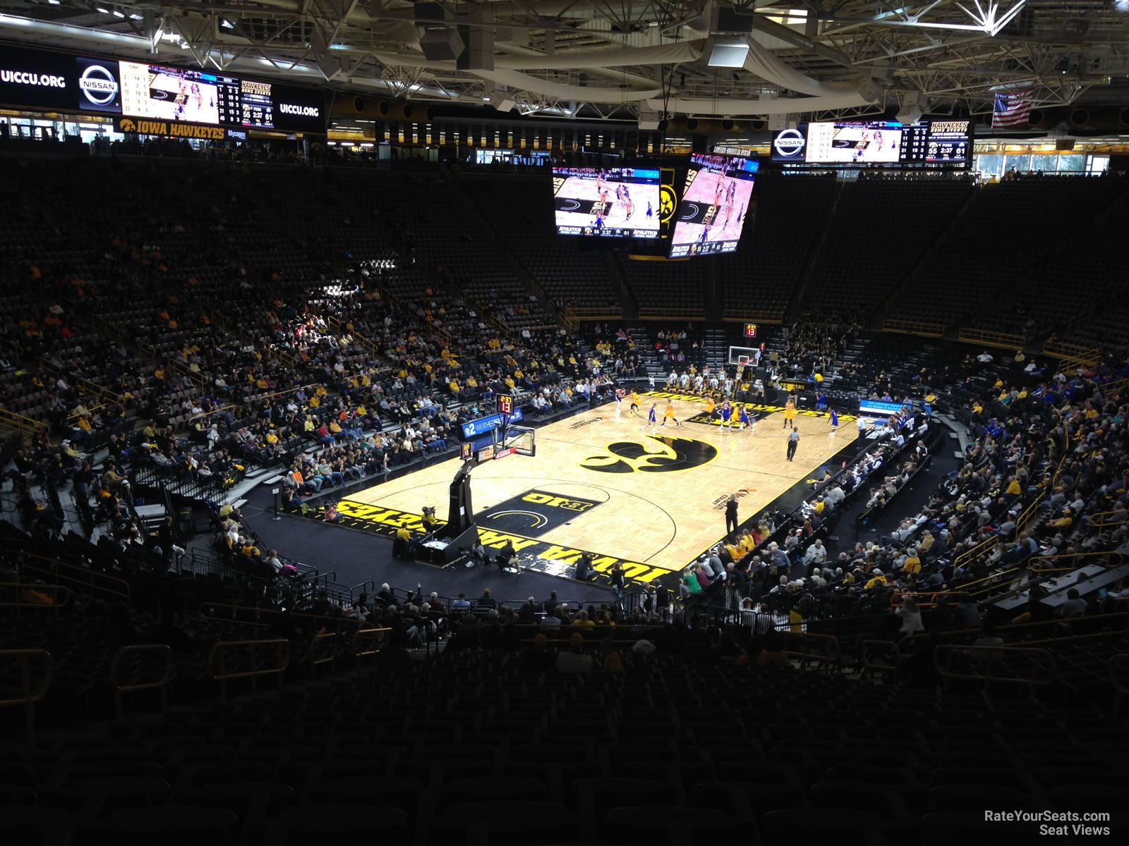 Carver-Hawkeye Arena Section EE - RateYourSeats.com