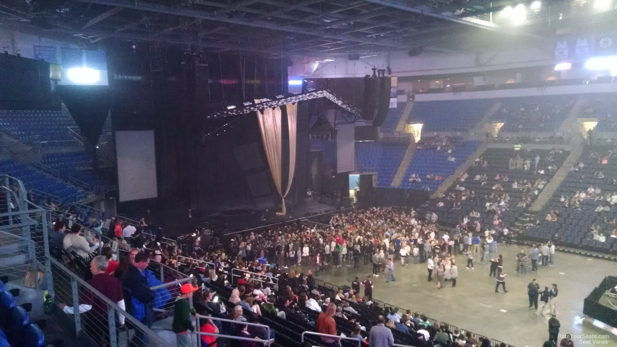 Chaifetz Arena Section 213 Concert Seating - RateYourSeats.com