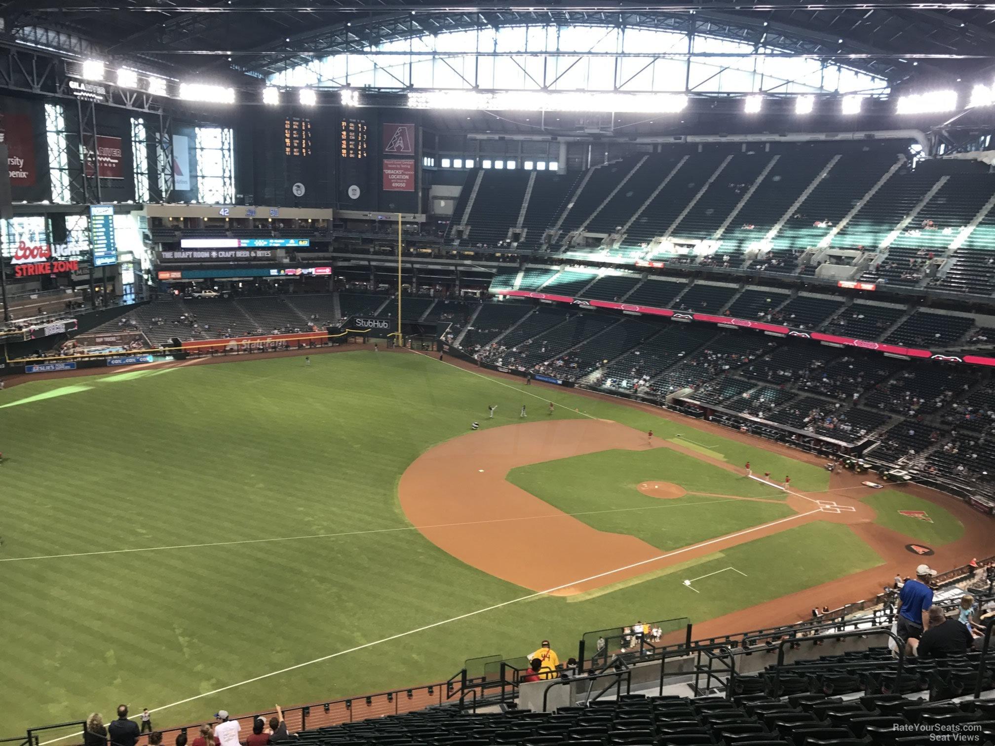 Chase Field Section 327 Arizona Diamondbacks